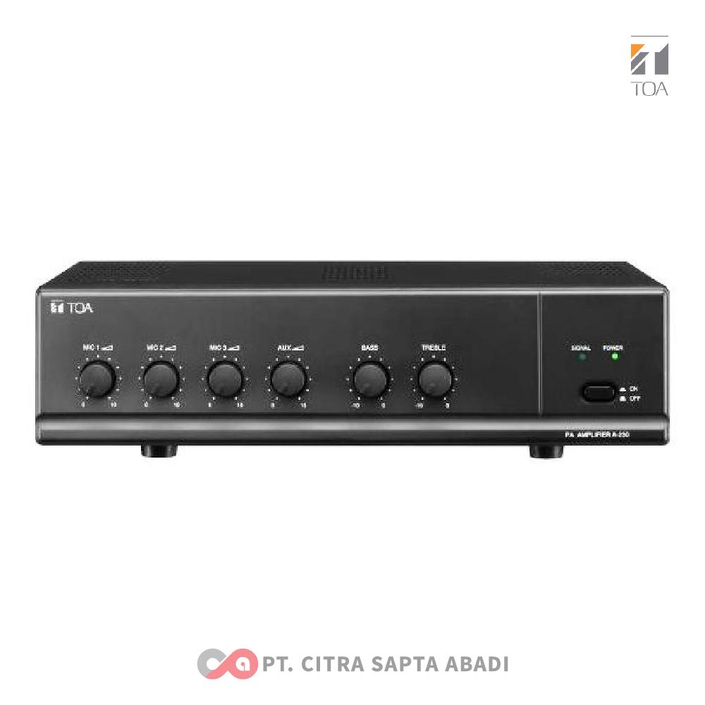 TOA Mixer Amplifier ZA-230W
