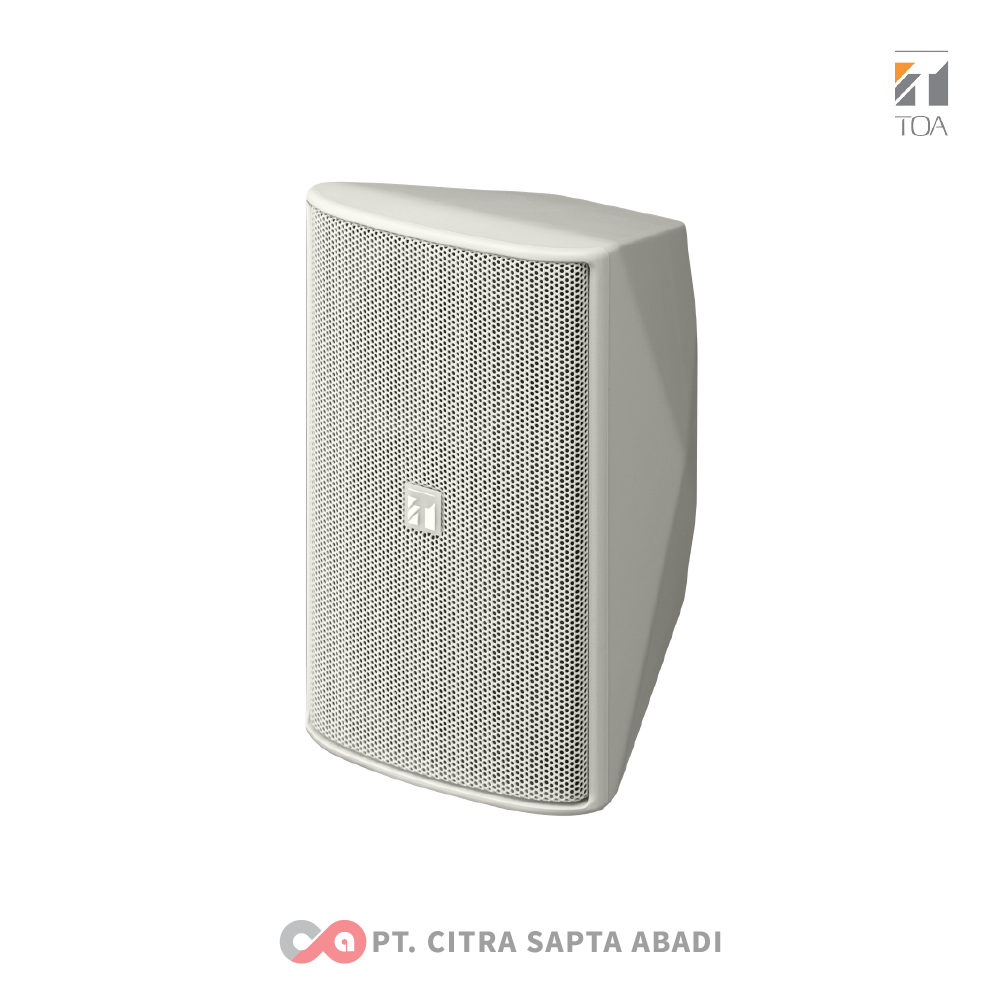 TOA Foreground Music Speakers System ZS-F1000 WM White