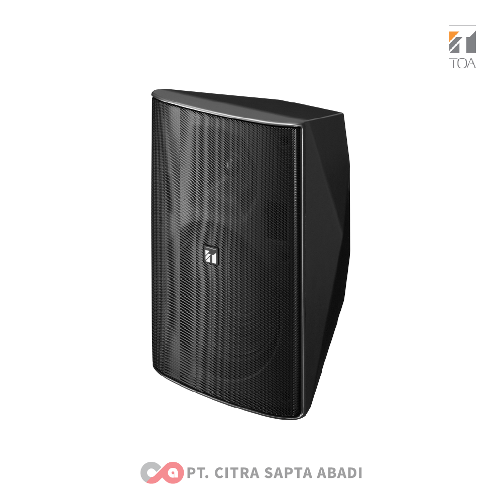 TOA Foreground Music Speakers System ZS-F2000 BMWP Black