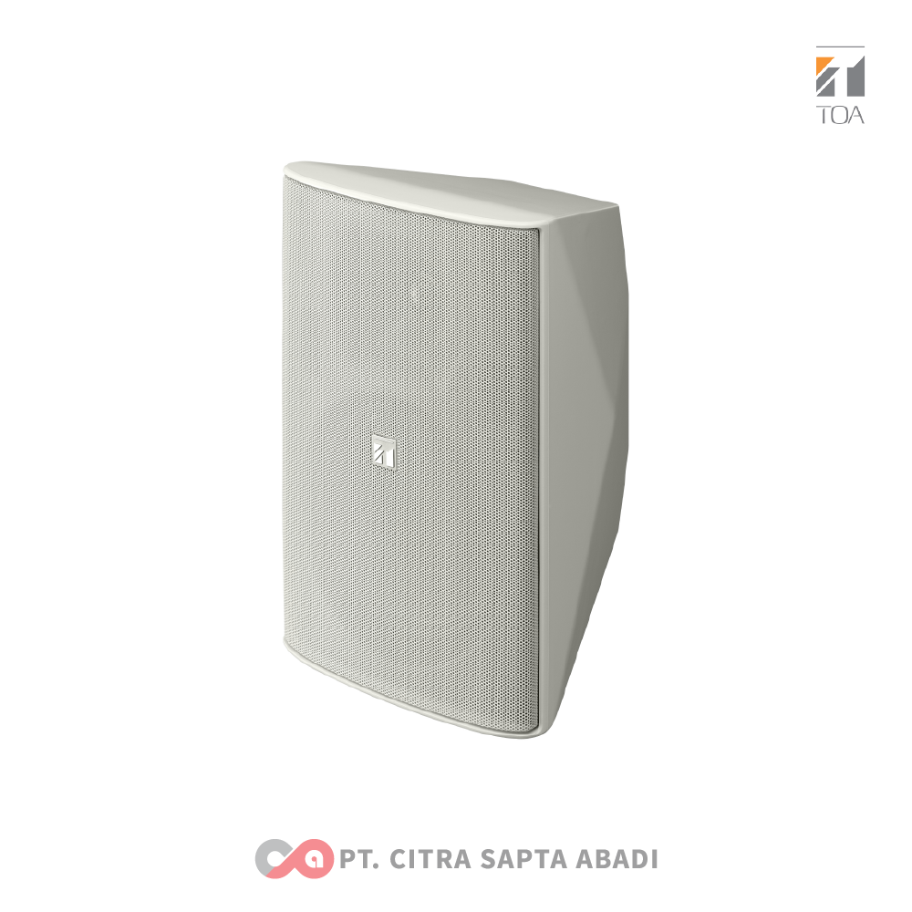 TOA Foreground Music Speakers System ZS-F2000 WMWP White