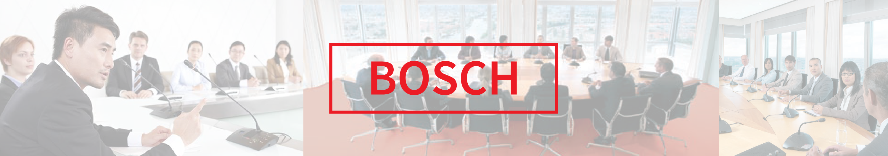 Bosch Conference System Products